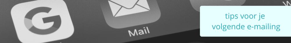tips voor emailing