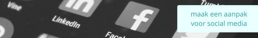 aanpak voor social media
